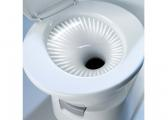 Cassette Toilet with Ceramic Basin