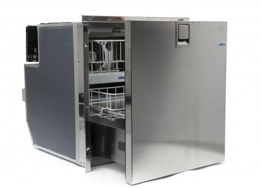 Besonders komfortabel! Exklusive Kühlschrankserie mit ausziehbaren Türen und Innendetailsaus rostfreiem Edelstahl.  (Bild 2 von 9)
