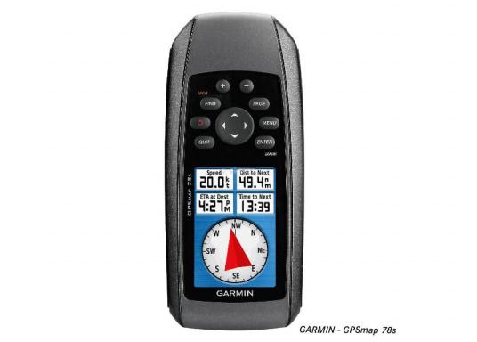 Robustes und schwimmfähiges GPSmap, ideal für alle Bootsführer und Wassersportfans. Das Gerät bietet: einen 3-Achsen-Kompass mit einem barometrischen Höhenmesser, ein helles Farbdisplay, einen Empfänger mit hoher Empfangsempfindlichkeit.  (Bild 6 von 13)