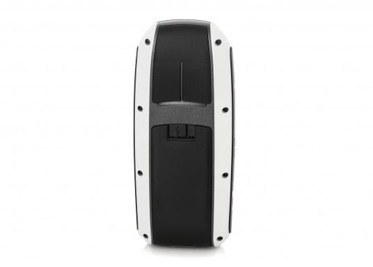 Robustes und schwimmfähiges GPSmap, ideal für alle Bootsführer und Wassersportfans. Das Gerät bietet: einen 3-Achsen-Kompass mit einem barometrischen Höhenmesser, ein helles Farbdisplay, einen Empfänger mit hoher Empfangsempfindlichkeit.  (Bild 4 von 13)
