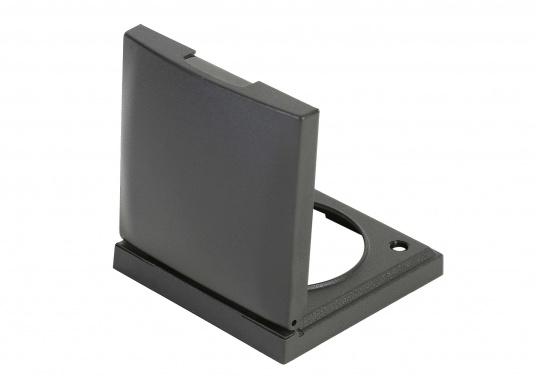 Diese Rahmen mit Klappdeckel erfüllen höchste Ansprüche und erlauben ein attraktives Raumdesign. Sie sind für die Abdeckung von Steckdosen geeignet. Farbe: anthrazit matt.  (Bild 3 von 3)