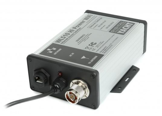 Aktuelle Wetterdaten, Kartenuptdates oder ein Büro an Bord– kein Problem mit dem HiPower WiFi-System WL510. Es ermöglicht über WiFi Hot Spots im Hafen eine Verbindung mit dem Internet.  (Bild 2 von 5)