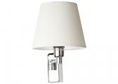 ISABELLA Wall Light / chrome / 1 swivelling arm