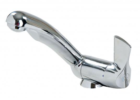Robinet de grande qualité avec une poignée précise pour un réglage parfait du débit et de la température.  (Image 4 de 5)