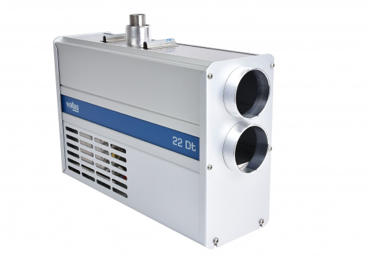Diesel heater with the best power utilisation in its class. The Wallas 22 Dt has an extremely low power consumption and thus can also be used on boats with smaller battery capacities.