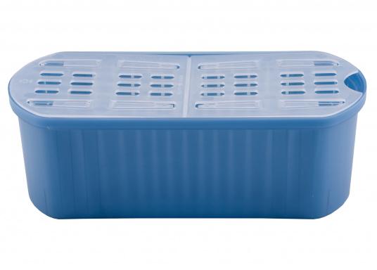 Zuverlässiger Luftentfeuchter! ABSODRY absorbiert bis zu einem Optimum von 50% die überschüssige Luftfeuchtigkeit und wird erst bei Erhöhung der Luftfeuchtigkeit wieder automatisch in Gang gesetzt.  (Bild 4 von 4)