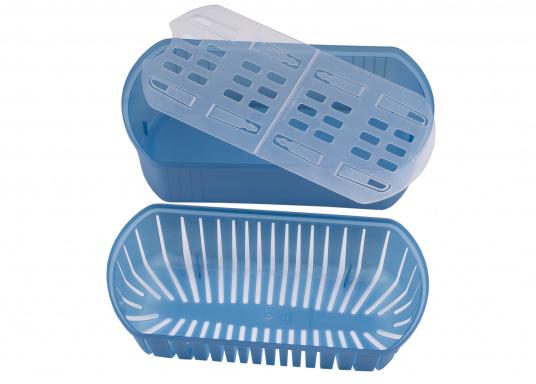 Zuverlässiger Luftentfeuchter! ABSODRY absorbiert bis zu einem Optimum von 50% die überschüssige Luftfeuchtigkeit und wird erst bei Erhöhung der Luftfeuchtigkeit wieder automatisch in Gang gesetzt.