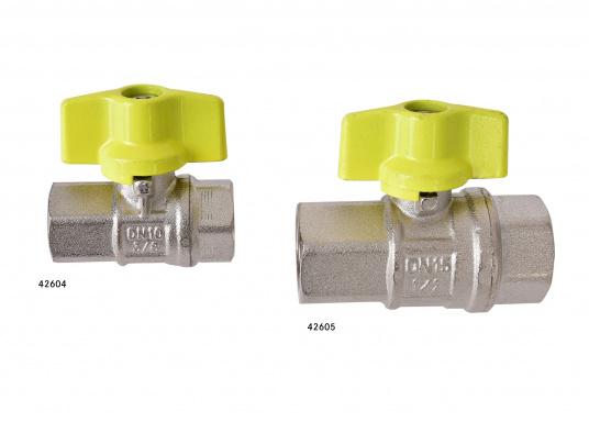 Kugelventil mit T-Griff-Steuerung. Lieferbar in verschiedenen Größen. (Bild 2 von 8)