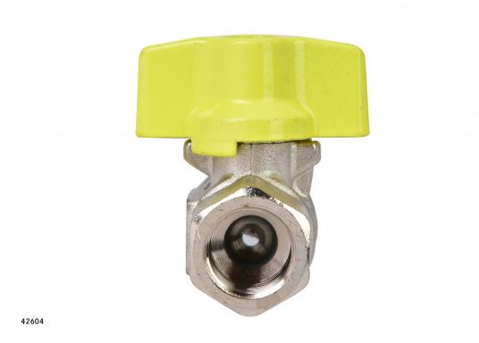 Kugelventil mit T-Griff-Steuerung. Lieferbar in verschiedenen Größen. (Bild 5 von 8)