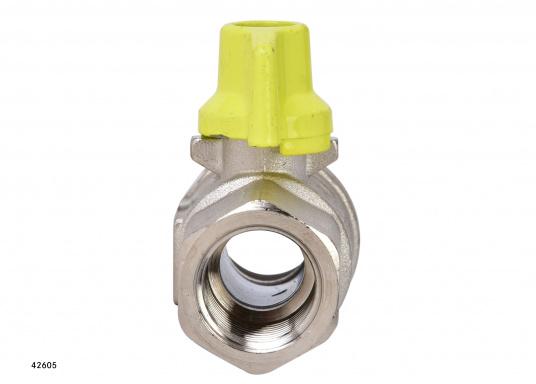 Kugelventil mit T-Griff-Steuerung. Lieferbar in verschiedenen Größen. (Bild 7 von 8)