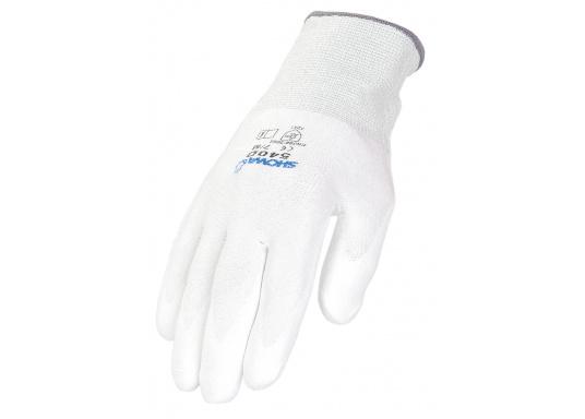 Dieser Schutzhandschuh aus ultrahochdichten Dyneema®-Polyethylenfasern ist besonders für Präzisionsarbeiten mit Schnittrisiko geeignet. (Bild 2 von 2)