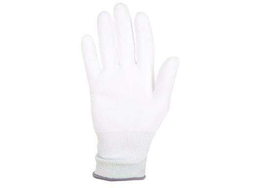 Dieser Schutzhandschuh aus ultrahochdichten Dyneema®-Polyethylenfasern ist besonders für Präzisionsarbeiten mit Schnittrisiko geeignet.