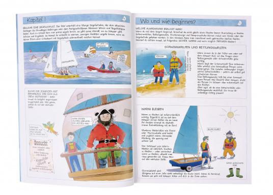 Ideales Einsteigerbuch für Kinder der Altersgruppe acht bis zwölf. Es ist besonders ansprechend im Comicstil und mit einer Sprache dicht an der Zielgruppe gehalten. (Bild 2 von 2)