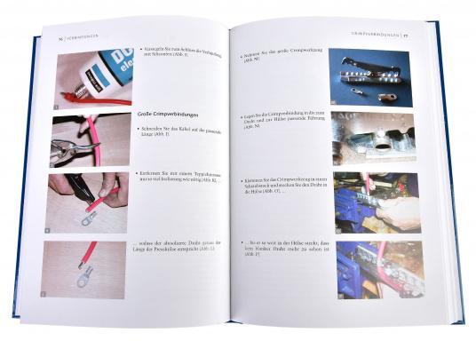 So bleibt die Elektrik an Bord nicht länger ein Buch mit sieben Siegeln für Sie! Das Buch gibt verständlich und mit vielen anschaulichen Abbildungen und Tabellen eine umfassende Übersicht über alle Arbeiten, die an der Elektrik an Bord anfallen können. (Bild 3 von 3)