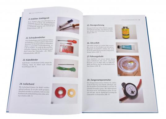 So bleibt die Elektrik an Bord nicht länger ein Buch mit sieben Siegeln für Sie! Das Buch gibt verständlich und mit vielen anschaulichen Abbildungen und Tabellen eine umfassende Übersicht über alle Arbeiten, die an der Elektrik an Bord anfallen können. (Bild 2 von 3)
