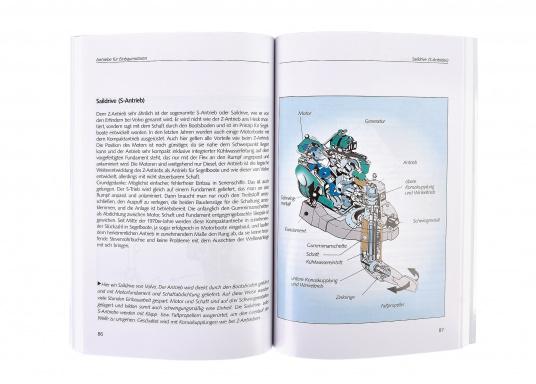 In diesem Buch werden alle in der Sportschifffahrt geläufigen Motorarten: Benzin, Diesel und E-Antrieb erklärt, Fragen beantwortet und Tipps für den Kauf gegeben. (Image 2 de 2)