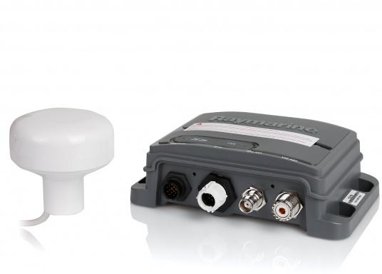 Das AIS650 empfängt AIS-Daten anderer Schiffe und sendet zusätzlich Ihre AIS-Daten an andere Schiffe.