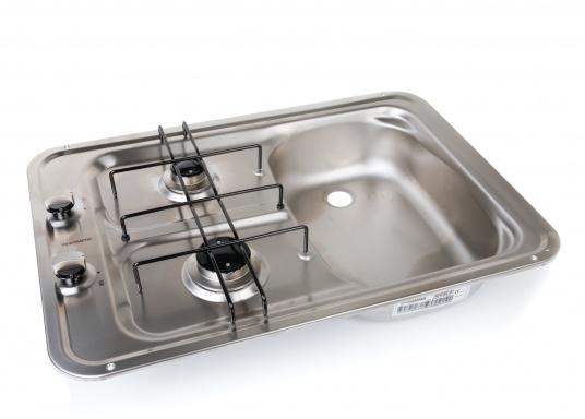 Dometic piano cottura a gas e lavello lavello destra solo 214 95 svb attrezzatura nautica - Cucina senza fornelli ...