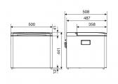 CombiCool RC 1200 EGP Cooler / 50 mbar