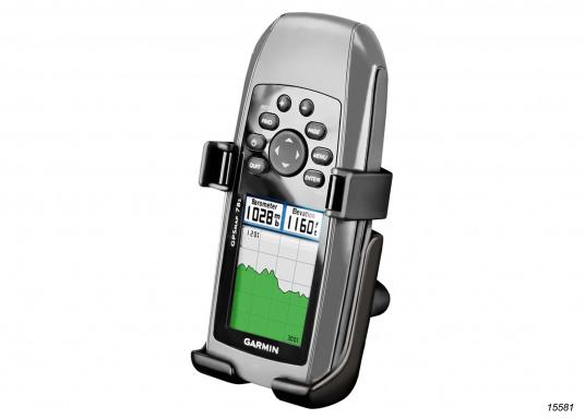 RAM Mount Haltesysteme sind kompakt, robust, langlebig und lassen die Bedienelemente Ihres Garmin GPSMap 78, 78s und 78sc voll zugänglich. (Bild 2 von 3)