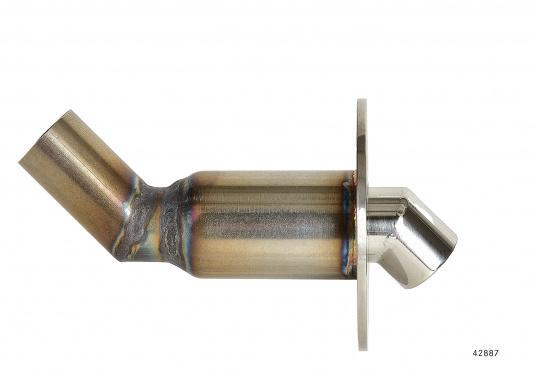 Originale, gebogene Borddurchführung passendfür die Marine Wasserheizung von Webasto. Erhältlich im Durchmesser: 24 und 38 mm.  (Bild 2 von 5)