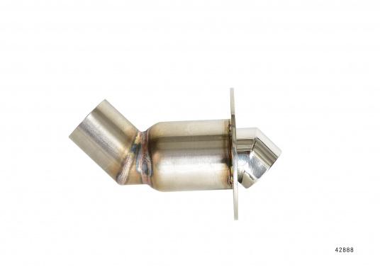 Originale, gebogene Borddurchführung passendfür die Marine Wasserheizung von Webasto. Erhältlich im Durchmesser: 24 und 38 mm.  (Bild 4 von 5)