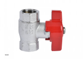Brass MS58 Ball Valve with T-Handle