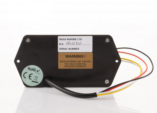 Der besonders kompakte BM-1 Compact wurde konstruiert für 12 Volt Batterie-Systeme mit einer Kapazität von bis zu 600 Amperestunden. Er wird komplett mit einem 100 Ampere Shunt und einem vorgefertigten Kabel geliefert.  (Bild 4 von 5)