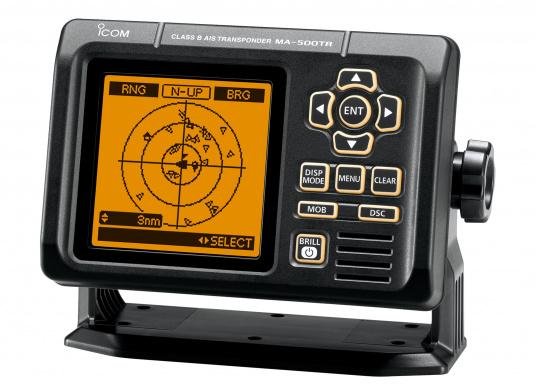 Der MA-500TR ist ein Class B AIS Transponder für nicht SOLAS regulierte Schiffe. Er sendet Informationen über Ihr Schiff und empfängt auf zwei AIS-Kanälen gleichzeitig und wertet Class A und Class B Daten aus.  (Bild 2 von 8)