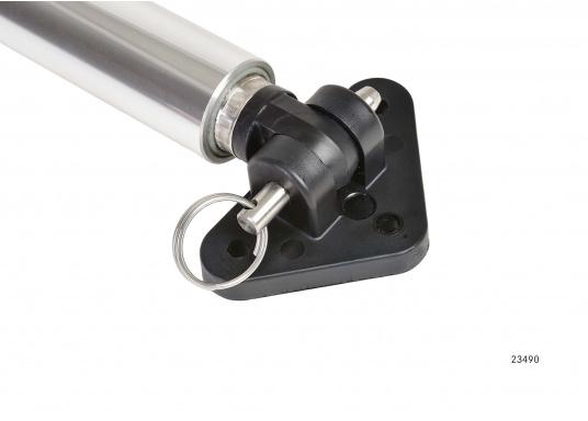 Elektrische Lukenheber zum Anheben von Luken, Motorraumklappen, Hauben etc.Erhältlich in verschiedenen Längen, jeweils als 12 V oder 24 V Version. (Bild 4 von 7)