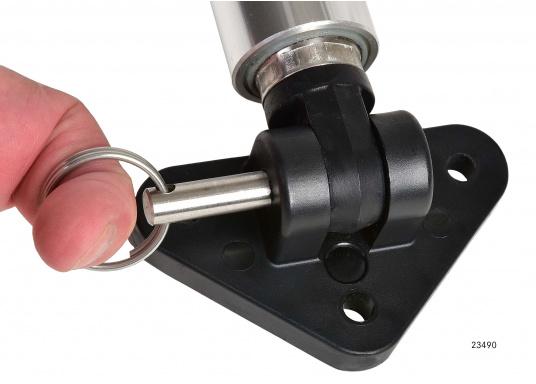 Elektrische Lukenheber zum Anheben von Luken, Motorraumklappen, Hauben etc.Erhältlich in verschiedenen Längen, jeweils als 12 V oder 24 V Version. (Bild 6 von 7)