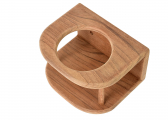 Teak Glass-Holder