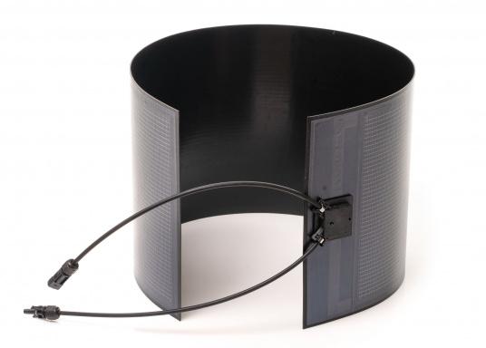 Besonders flexible Dünnschicht-Solarmodule– extrem dünn und trotzdem kraftvoll und äußerst widerstandsfähig, see- und salzwasserfest.  (Bild 2 von 8)