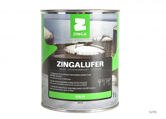 One-component polyurethane primer paint. Zingalufer has excellent water resistance and corrosion protection properties.