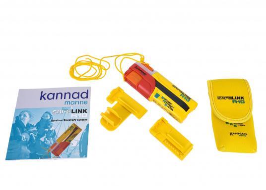 Ein Muss für jeden sicherheitsbewussten Wassersportler! Der SafeLink R10 ist ein kompakter Notfallsender, der am Mann getragen wird. Er ist sofort einsatzbereit, bietet einen integrierten GPS-Empfänger, ist wasserdicht und schwimmfähig. (Bild 2 von 8)