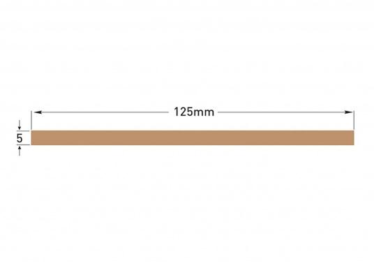 Elegant und technisch hochwertig! Der flexibleDecksbelag in Teak Optikkann auf Kunststoff-, Stahl- und Holzoberflächen eingesetzt werden. Er ist langlebig, vollständig UV-stabilisiert und besonders rutschfest.  (Bild 9 von 12)