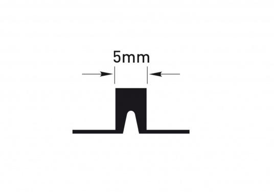 Elegant und technisch hochwertig! Der flexible Teakoptik Deckbelag kann auf Kunststoff-, Stahl- und Holzoberflächen eingesetzt werden. Er ist langlebig, vollständig UV-stabilisiert und besonders rutschfest.  (Bild 43 von 60)