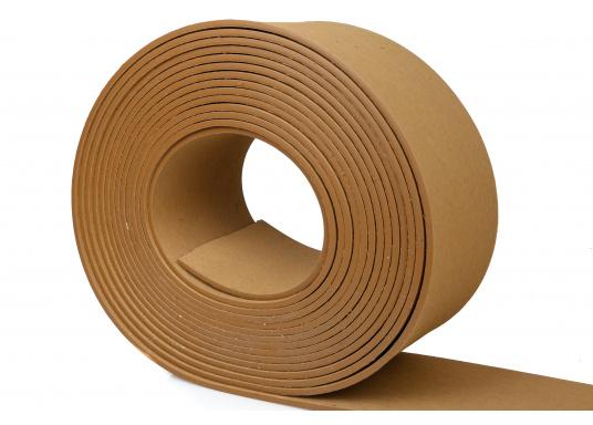Elegant und technisch hochwertig! Der flexibleDecksbelag in Teak Optikkann auf Kunststoff-, Stahl- und Holzoberflächen eingesetzt werden. Er ist langlebig, vollständig UV-stabilisiert und besonders rutschfest.  (Bild 4 von 12)