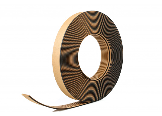 Elegant und technisch hochwertig! Der flexible Teakoptik Deckbelag kann auf Kunststoff-, Stahl- und Holzoberflächen eingesetzt werden. Er ist langlebig, vollständig UV-stabilisiert und besonders rutschfest.  (Bild 53 von 60)