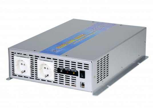 These compact pure sine wave power inverters generate a clean sine wave voltage. They are ideal for audio and video equipment as well as for computers. Several models available. (Image 3 of 3)