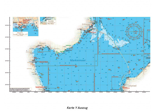 Niederlande Ijsselmeer Karte.Seekarten Niederlande Jetzt Kaufen Svb Yacht Und Bootszubehör