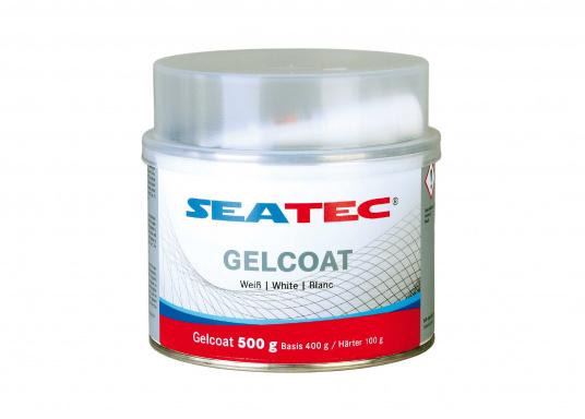 Das SEATEC - Polyester GELCOAT bildet eine wasserbeständige Deckschicht auf GFK-Beschichtungen und Polyester-Spachtelschichten.