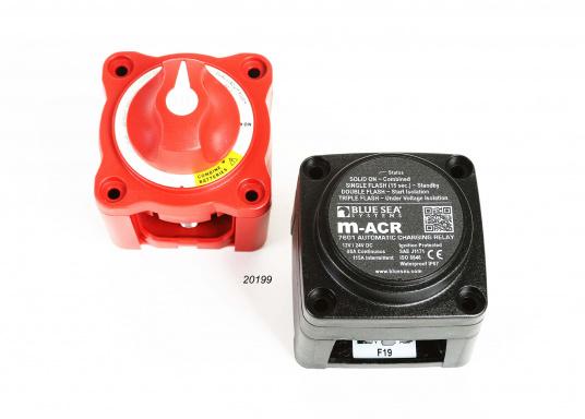 Das Upgrade für Ihre Schalt- und Ladesysteme. ADD A BATTERY erlaubt den Anschluss einer zweiten Batterie, vereinfacht das Umschalten und automatisiert den Ladevorgang. Verwendbar mit Generatoren mit65 Ampere.