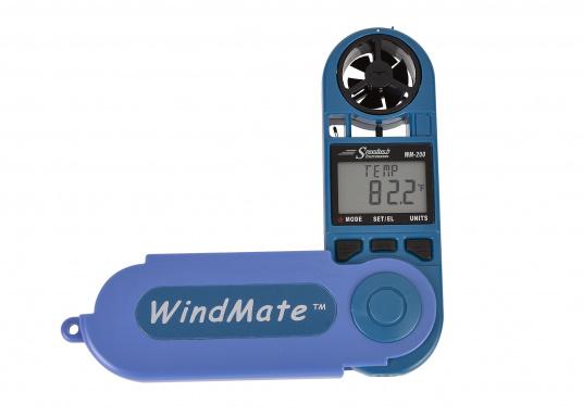 Einfachste Ermittlung von Seitenwind-, Gegen- / Rückenwindkomponente! MitThermometer und digitalem Kompass. Die Werte werdendigital und als Himmelsrichtung in Form eines einfachen Ablesewertes angezeigt. (Bild 2 von 7)