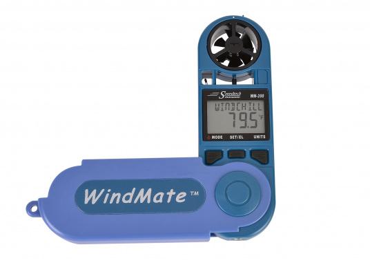 Einfachste Ermittlung von Seitenwind-, Gegen- / Rückenwindkomponente! MitThermometer und digitalem Kompass. Die Werte werdendigital und als Himmelsrichtung in Form eines einfachen Ablesewertes angezeigt. (Bild 4 von 7)