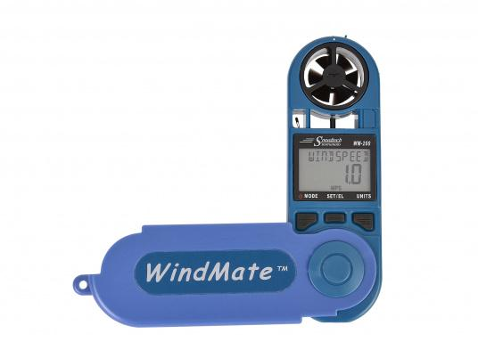 Einfachste Ermittlung von Seitenwind-, Gegen- / Rückenwindkomponente! MitThermometer und digitalem Kompass. Die Werte werdendigital und als Himmelsrichtung in Form eines einfachen Ablesewertes angezeigt.