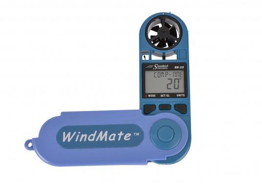 Einfachste Ermittlung von Seitenwind-, Gegen- / Rückenwindkomponente! MitThermometer und digitalem Kompass. Die Werte werdendigital und als Himmelsrichtung in Form eines einfachen Ablesewertes angezeigt. (Bild 3 von 7)