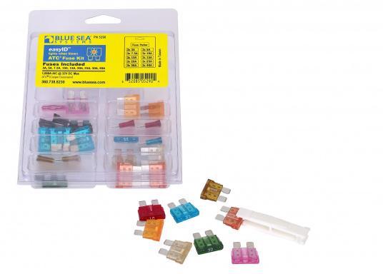 Durchgebrannte Sicherungen schnell und einfach ausfindig machen, sogar im Dunkeln! Brennt eine Sicherung durch, schaltet sich ein LED Lämpchen an genau dieser Sicherung ein. 31 Stück, 3A - 40A.  (Bild 3 von 5)