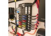 Sicherungssortiment mit LED Anzeige