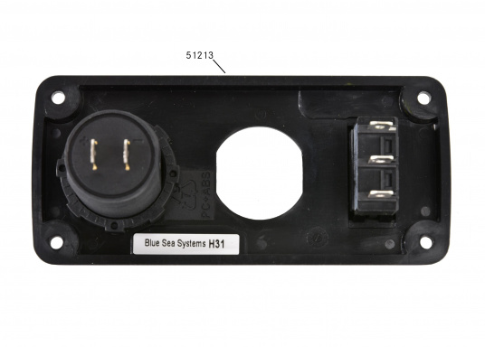 Dual USB charging socket for convenient charging! Ideal to charge the battery of your smartphone or iPad. 